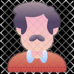 Uncle Gradient Icon