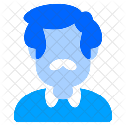 Uncle Flat Icon