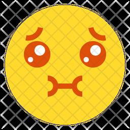 Unconfortable Emoji Icon