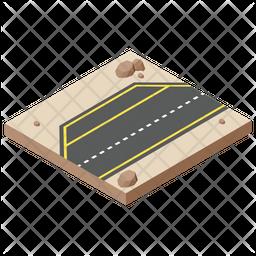 Under Construction Road Icon