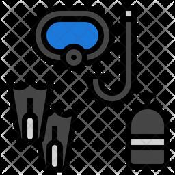 Underwater Equipment Icon