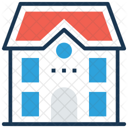 University Colored Outline Icon