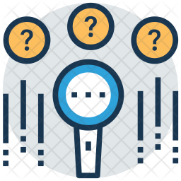 Unknown search Icon