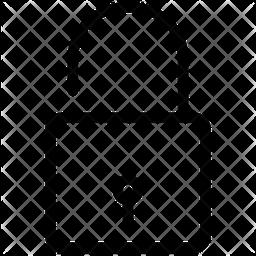 Unlock Line Icon