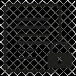 Unlock File Icon