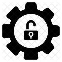 Unlock Setting Glyph Icon