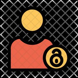 Unlock User Icon