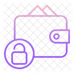 Unlock Wallet Gradient Icon