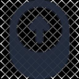 Up animation Dualtone Icon