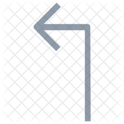 Up Left Arrow Icon png