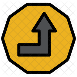 Up Sign Icon