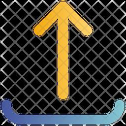 Upload Gradient Icon