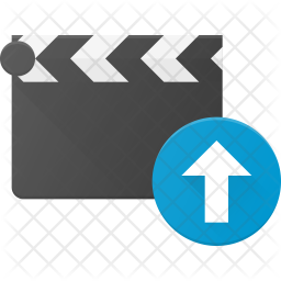 Upload clip Flat Icon