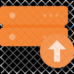 Upload data on server Icon