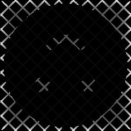 Upside Down Face Emoji Icon