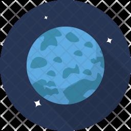 Uranus Flat Icon