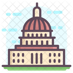 Us Capitol Building Icon