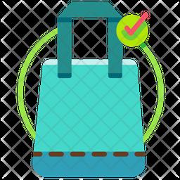 Use eco bag Icon
