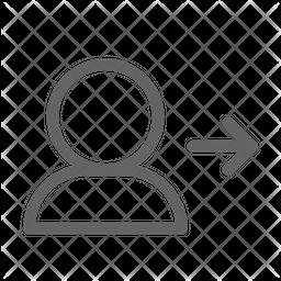 User Line Icon