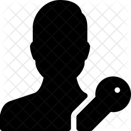 User access Glyph Icon
