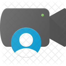 User camera Flat Icon