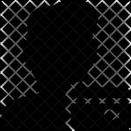 User card Glyph Icon