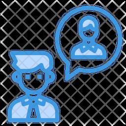 User Communication Icon