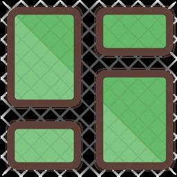 Dashboard Colored Outline Icon