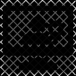 User Location Glyph Icon