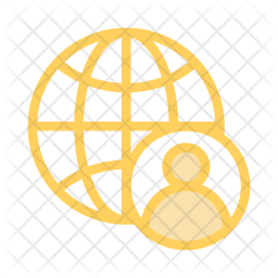 User network Colored Outline Icon