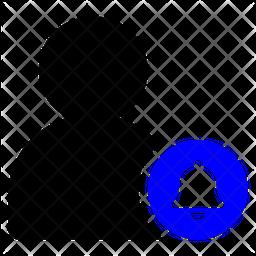 User Notification Dualtone Icon