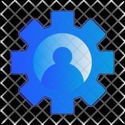 User Option Gradient Icon