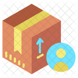 User Parcel Icon