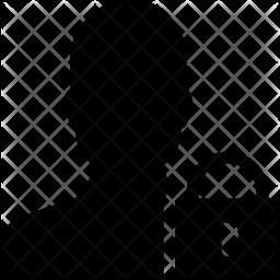 User privacy Glyph Icon