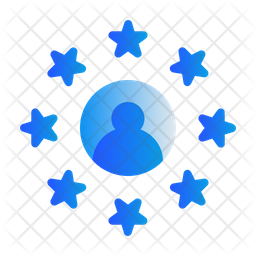 User Rating Gradient Icon