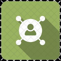 User Skill Glyph Icon