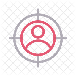 User Target Line Icon