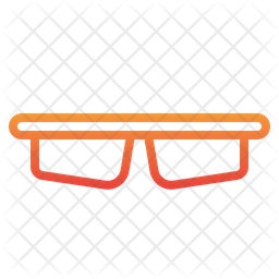 Uv Protected Glasses Icon