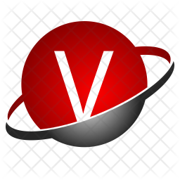 V Alphabet Logo Icon Of Flat Style Available In Svg Png Eps Ai Icon Fonts