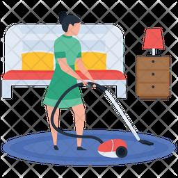 Vacuum Cleaning Icon
