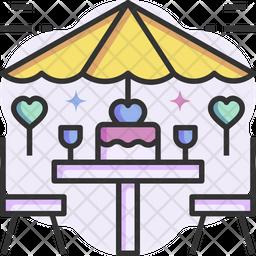 Valentine Table Icon