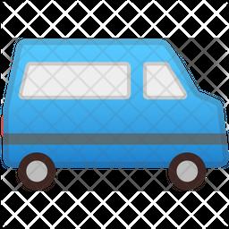 Van Flat Icon