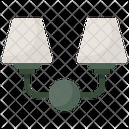 Vanity Lights Icon