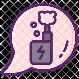 Vaping Addiction Icon