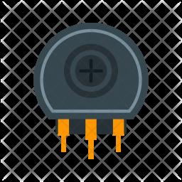 Variable resistor Icon