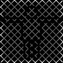 Variance Line Icon