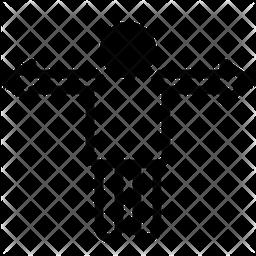 Variance Glyph Icon