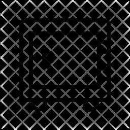 Vault Line Icon