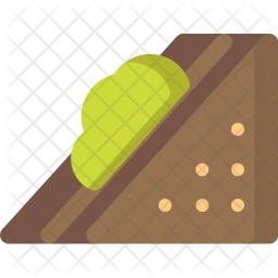 Vegetable, Sandwich Icon
