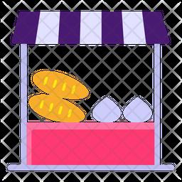 Vegetable Shop Icon
